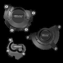 GB-Racing engine cover set Kawasaki ZX10-R '11-15 / '16- (koppeling, pulse en dynamo)