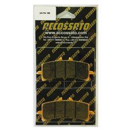 Accossato racing ZXC racing carbon remblokken AGPA106 ( Brembo monoblock remklauw )