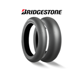 Bridgestone racing Battlax V02 Slick set 120 front & V01 slick 190 rear sorft or medium