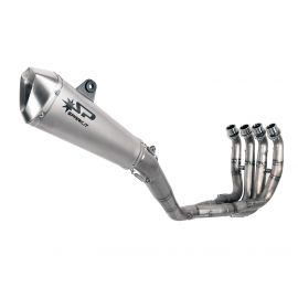 Spark RACING full system stainless steel collector + KONIX silencer YAMAHA R6 (07-16)