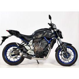 Spark volledig RVS uitlaatsysteem ( EU gekeurd) Yamaha MT-07