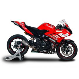 Spark RACING full system stainless steel collector + MOTOGP silencer YAMAHA R3 (15-18)