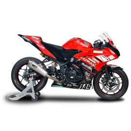 Spark RACING full system stainless steel collector + KONIX silencer YAMAHA R3 (15-18)