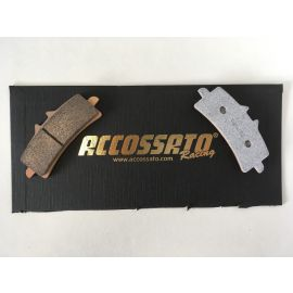 Accossato racing AV2 racing sinter remblokken AGPA106 ( Brembo monoblock remklauw )