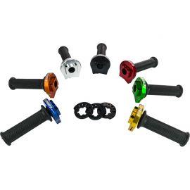 Accossato snelgas aluminium behuizing met zwarte handvaten. zonder kabels. diameter 40-43-45 mm