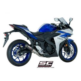 SC-Project Full System CR-T YAMAHA YZF R3 (15-17)