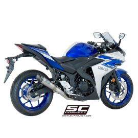 SC-Project Full System S1 Carbon YAMAHA YZF R3 (15-17)